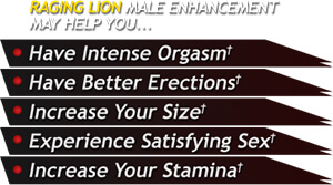 Raging Lion Benefits